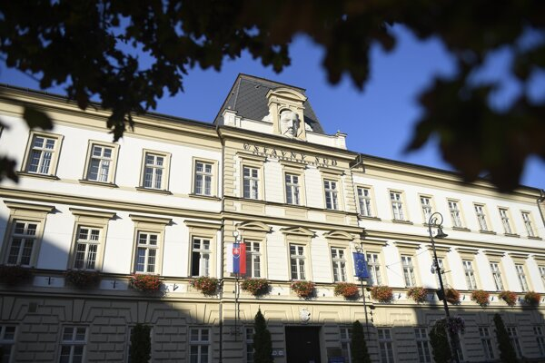 The Constitutional Court in Košice.