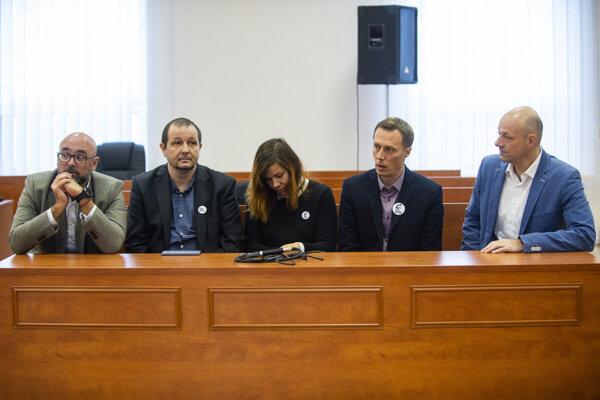 Ján Kuciak's colleagues