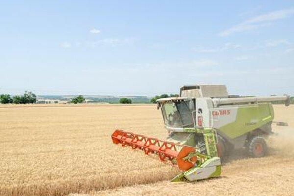 Harvest in Slovakia
