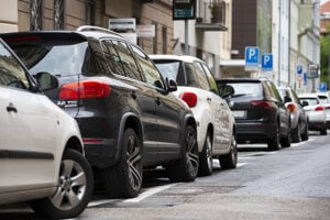 Parking is a problem in the centre of Bratislava as well as some its boroughs.