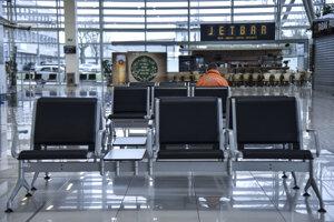The airport in Bratislava