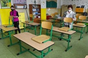 The primary school in Prešov is preparing for reopening on June 1.