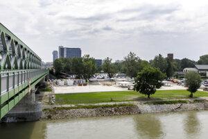 Tyršák Beach, named after Czech art historian Miroslav Tyrš, is opened in Bratislava on June 19, 2020