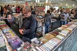 Book lovers visit Bibliotéka, a Slovak book fair, held on November 7, 2019 at Incheba in Bratislava.
