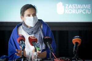Justice Minister Mária Kolíková