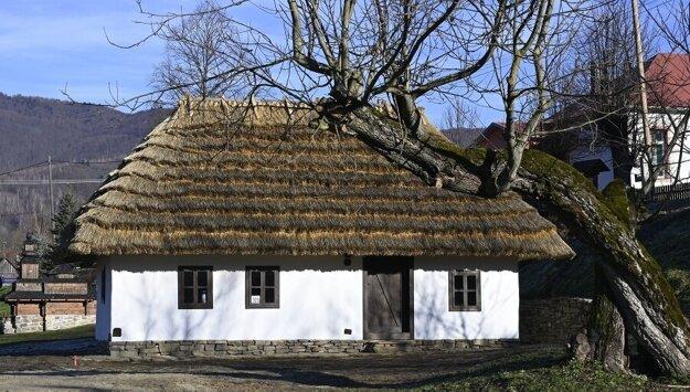 Deduško Večerníček's house in Nová Sedlica.