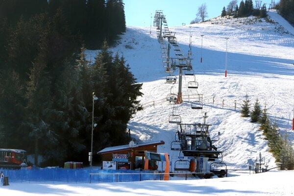 The ski resort in Donovaly.