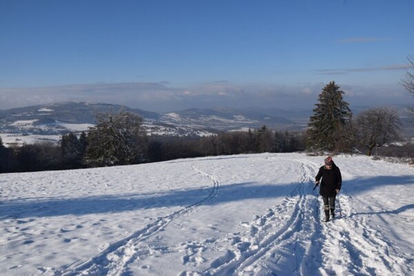 Javor is a lovely spot to explore during the winter