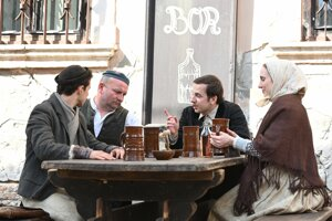 WEEK 13: A Jozef Mak movie is filmed in the city centre of Trnava.