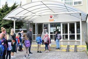 A primary school in Trnava.