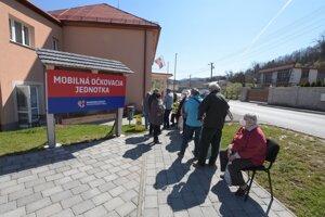 Vaccination in Banská Bystrica Region