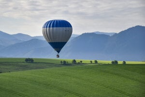 Flight in balloon in Liptov region