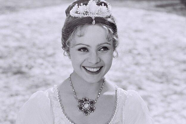 "Czech actress Libuše Šafránková, who starred in the iconic Czechoslovak Christmas film ""Three Gifts for Cinderella"