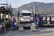 Passenger cars make up a large portion of Slovakia's import to the UK.