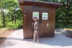 Two vermicomposting toilets have been placed in the Slovenský raj national park.