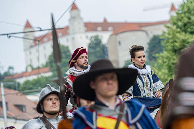 Bratislava will come alive with the glorious royal past between August 13 and 15, 2021.