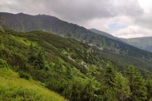 Hike to the top of Chopok