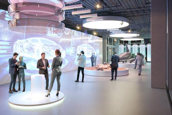 The Slovakia's pavilion at Expo 2020 Dubai