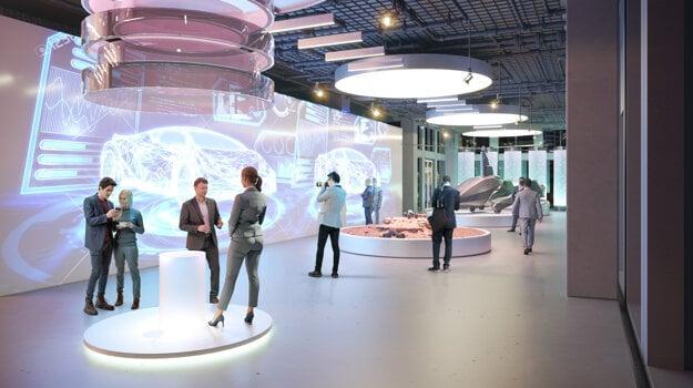 Slovakia's pavilion at Expo 2020 Dubai