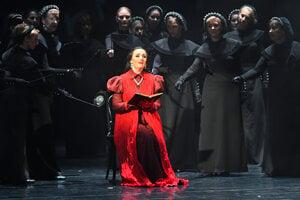 On October 1, 2021, the Košice State Theatre presented the premiere of Gaetano Doinizetti's opera 'Robeto Devereux.'