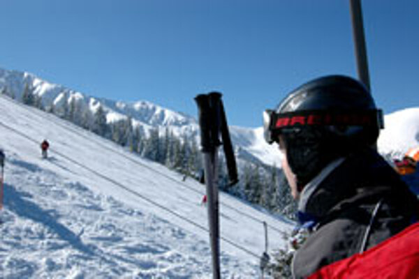 The current conditions at the Jasná ski resort are excellent for skiing.