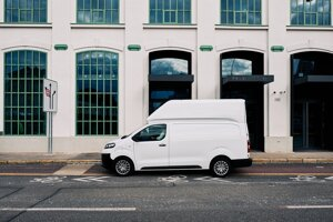 One of the new models added to the Voltia e-van fleet.