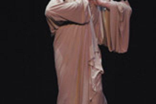 Milan Sládek in performance.