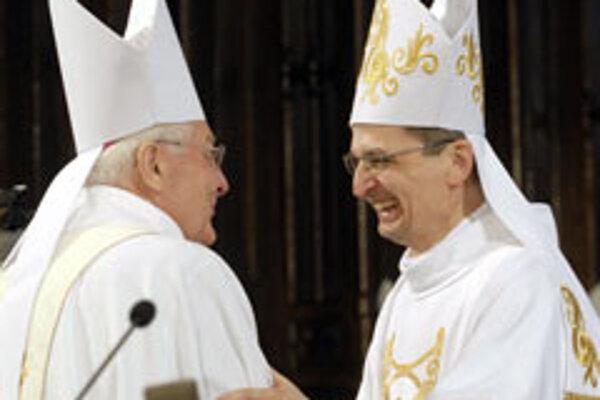 Archbishops Sokol and Zvolenský.