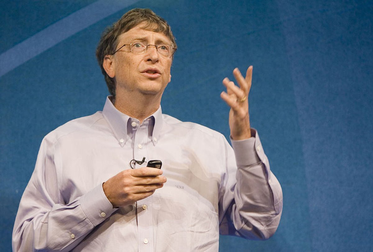 social responsibility and bill gates