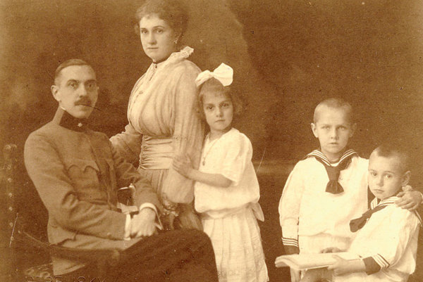 The Kállay family was a happy one under parents Margita and Ferdinand.