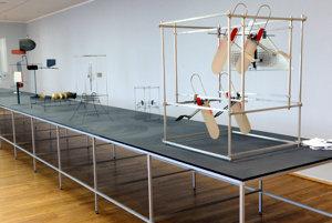Models of kinetic objects by Anton Cepka