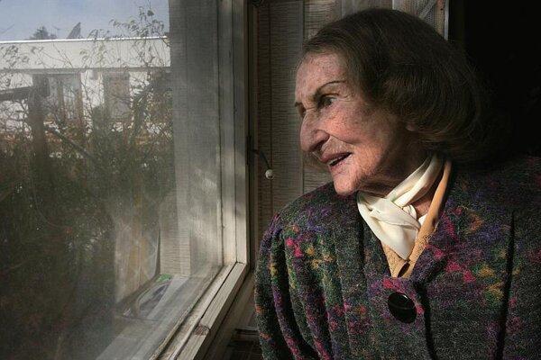 Vilma Jamnická loved life.