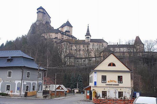 Orava Castle is the most visited in Slovakia.