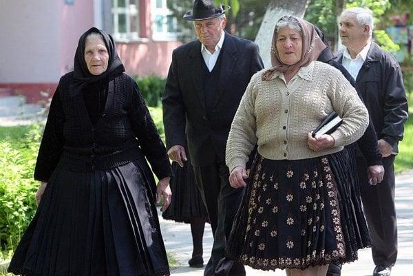 Pensioners.