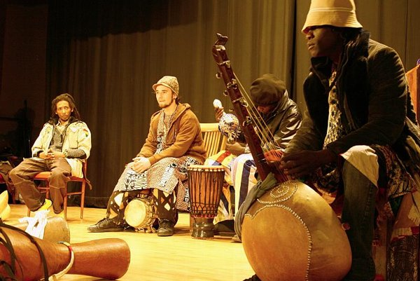 A concert by the French-Senegalese group Black Thiossane.
