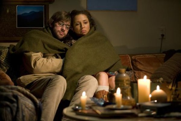 Along with leads John Krasinski (left) and Maya Rudolph (right),stars in Away We Go