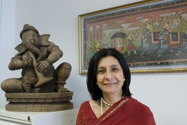 Ambassador of India to Slovakia Homai Saha