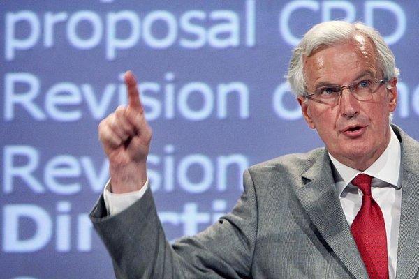 EU Commissioner for Internal Market and Services Michel Barnier