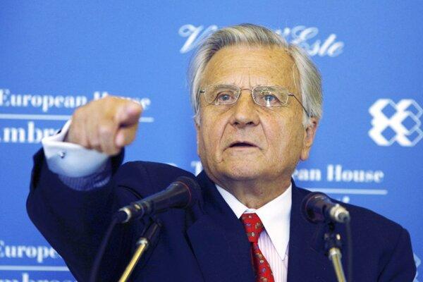 European Central Bank president Jean-Claude Trichet