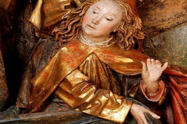 Detail from The Birth of Jesus, ca. 1480.