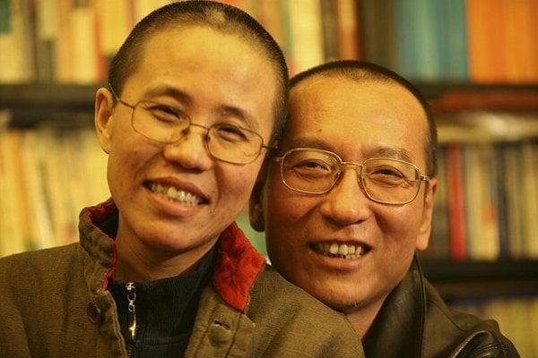 Liu Xiaobo and his wife Liu Xia.