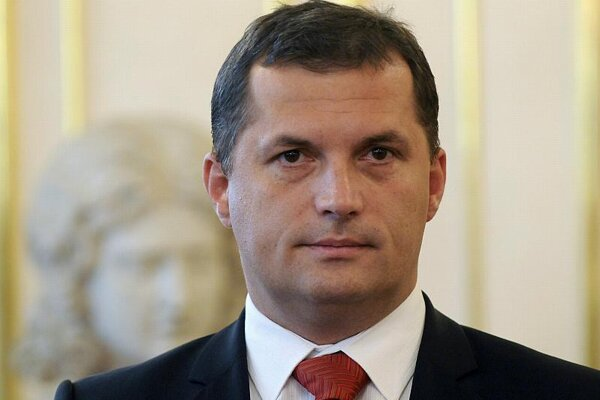 The new environment minister, József Nagy.