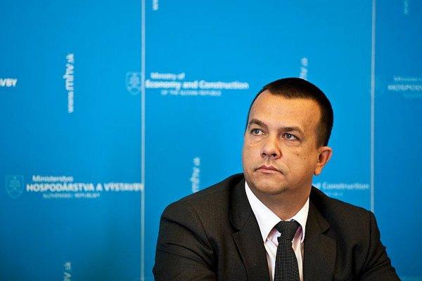 Economy Minister Juraj Miškov