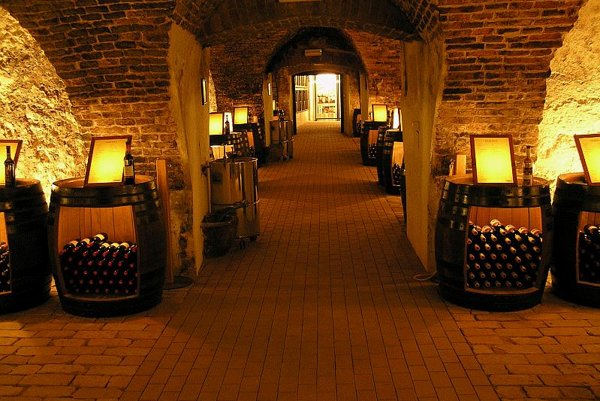 Cellars provide an excellent atmosphere for tasting the best Slovak wines.