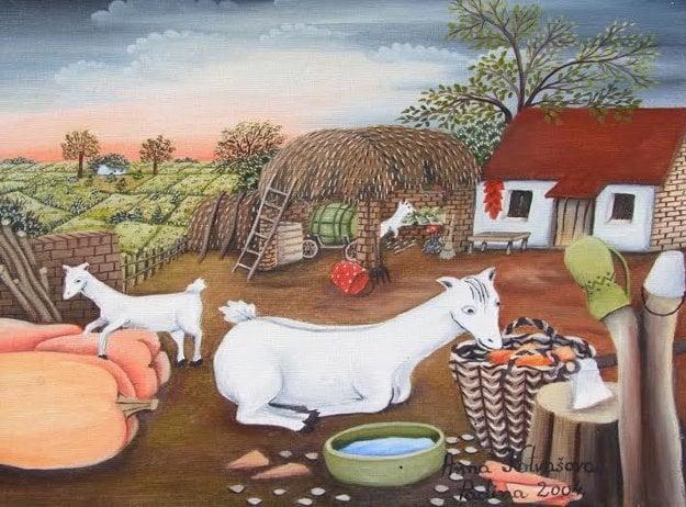 Naive Art from Kovačica, Anna Kotvášová