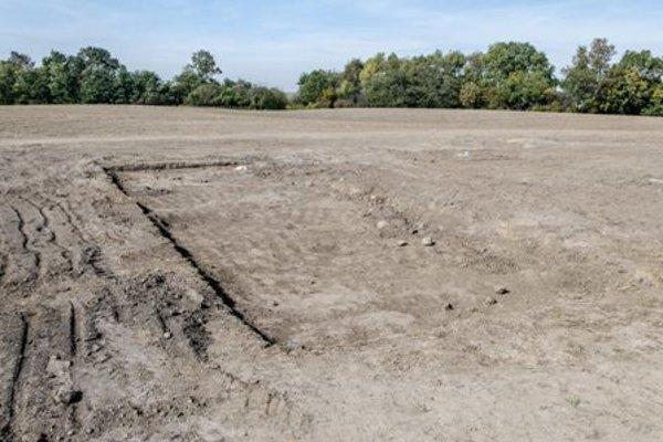 Archaeological site Vráble-Fidvár.