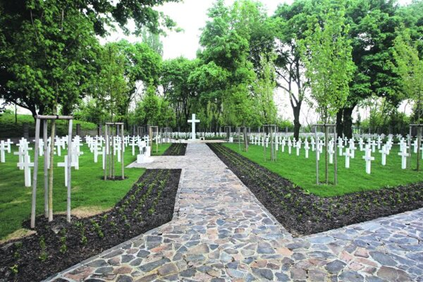 Petržalka military cemetery.