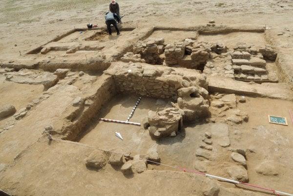 Slovak archaeologists in Kuwait