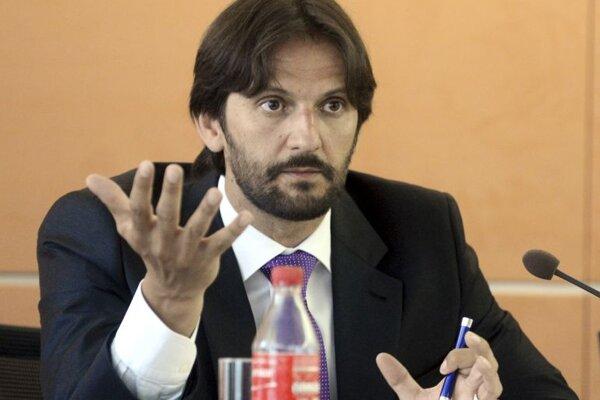 Interior Minister Robert Kaliňák