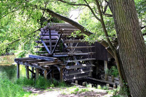 Water mill in Dunajský Klátov